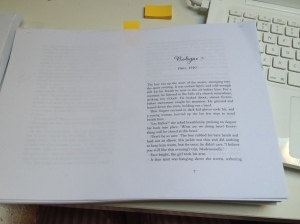 The Confectioners Tale page proof