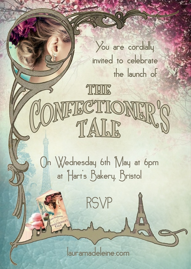 The Confectioner's Tale Invite