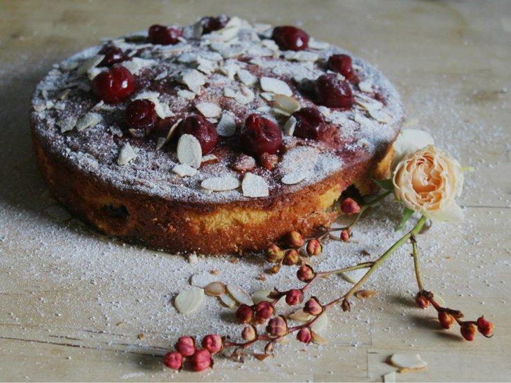 Wild Cherry Cake 1