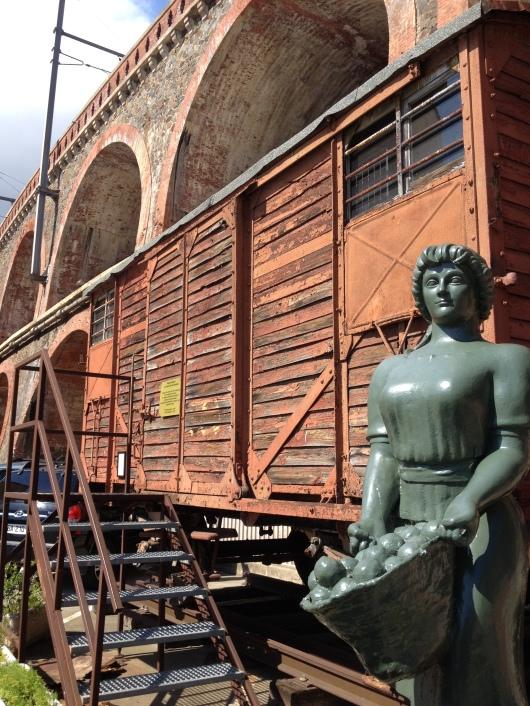 Cerbere Transbordeuses statue
