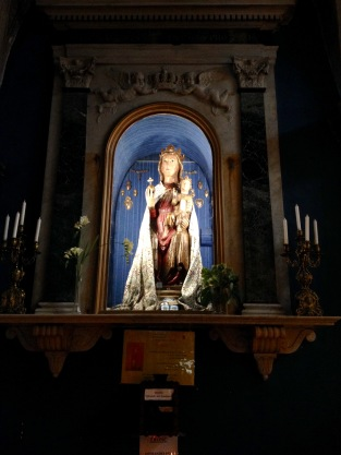 A madonna in the church of saint martin vesubie