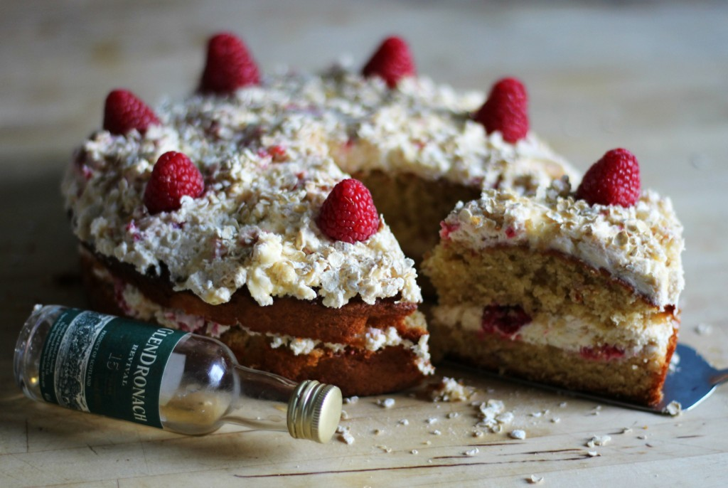 Picture of a Cranachan cake
